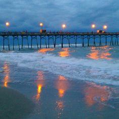 The pier at Emerald Isles North Carolina.  NEXT JULY 4TH 2013!!