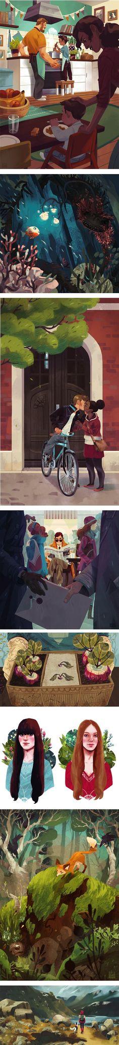 Illustration – Page 23 Art And Illustration, Illustrations And Posters, Character Illustration, Bg Design, Dibujos Cute, Art Plastique, Art Inspo, Amazing Art, Book Art