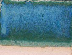 36Blue Green cone 6   Gillespie Borate 0.22  Strontium Carbonate 0.04  Whiting0.11  Custer Feldspar 0.38  Flint0.25  Cobalt Carbonate 0.005  Chrome Oxide 0.01  Bentonite0.02