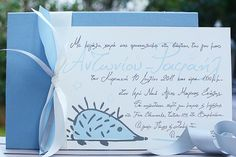 For your little Boy and girl, we design handwritten baptism invitations that every detail uncover your romantic mood, your tenderness, your love for life. Little Boy And Girl, Little Boys, Boy Or Girl, Boy Christening, Boy Baptism, Romantic Mood, Baptism Invitations, Forest Animals, Light Blue