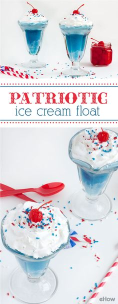 YES! This patriotic ice cream float is exactly what we need on 4th of July (and all summer long). Full recipe and instructions here: http://www.ehow.com/how_12340566_make-patriotic-parade-float.html?utm_source=pinterest.com&utm_medium=referral&utm_content=freestyle&utm_campaign=fanpage