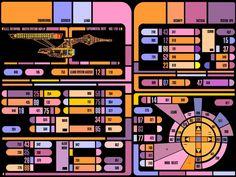 Star Trek The Next Generation's LCARS UI