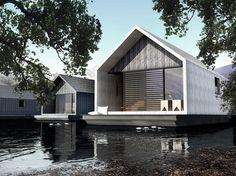 Las casas flotantes ecológicas tienen una muy seria reducción de huella de carbono. | 28 Casas flotantes por las que te dejarás llevar