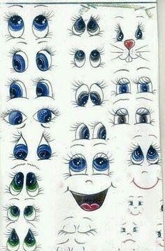 Formato de olhos