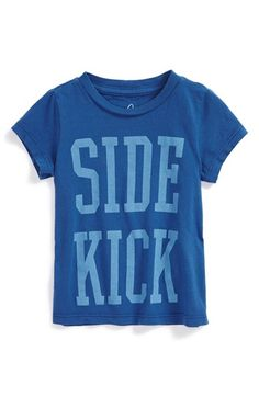 Peek+'Side+Kick'+Graphic+Cotton+T-Shirt+(Baby+Boys)+available+at+#Nordstrom