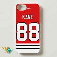 Patrick Kane 88 | Chicago Blackhawks Jersey | iPhone 4 4S 5 5S 5C 6 6+ Case | Samsung Galaxy S3 S4 S5 Cover | HTC Cases - jackandgeorges