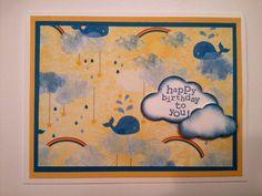 Handmade Kid's Birthday Card on Etsy, $5.00