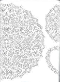 21 patrones gratis para hacer atrapasueños con encaje de bolillos ★★★★☆ 638 Opiniones - Patrones y Labores Crochet Tablecloth Pattern, Crochet Doily Diagram, Crochet Doily Patterns, Lace Patterns, Crochet Motif, Crochet Doilies, Dream Catcher Craft, Diy Crafts Crochet, Lacemaking