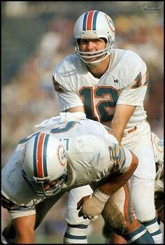 C Jim Langer and QB Bob Griese