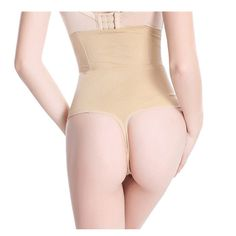 7aa233e1e0726 High Waist Thong Butt Lifter Panties With Tummy Control Body Shaper  Shapewear Butt Lift Panties Thongs