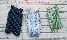 Cute Boys ShortallsOverallsJon Jons Custom by GoldeeloxCreations, $20.00