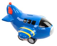 Giant Airplane Bank by Mud Pie™ (Personalization available) :: For That Occasion