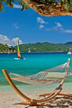 Relax in a hammock overlooking St. John and Great Bay. The Ritz-Carlton, St. Thomas (St. Thomas, US Virgin Islands) - Jetsetter