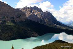Peyto Lake, Banff National Park, Alberta   TravelGumbo