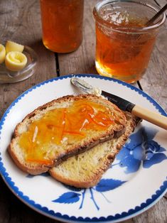 """Three Fruit Marmalade (recipe) - """"rewarded me with several jars (I increased the recipe slightly) of glowing citrus preserve……and oh yes, was I VERY proud of myself!"""""""