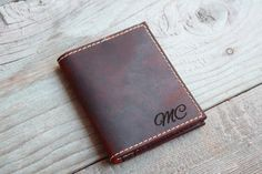 Card Holder , Wallet can be personalized with Name, Initials, Coordinates, Logo.  Front, Inside and Back of the Card Holder / Wallet can be engraved, Please choose from the drop down menu the option that suits you.  This wallet is the Perfect Gift for everyone, Father, Grand Father, Father in Law, Cousin, Brother, Brother in Law, Boyfriend, Husband, God Parent, Anyone really.   ************************************************************************************  This product is made from…