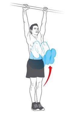 Ćwiczenia siłowe (drążek, pompki).