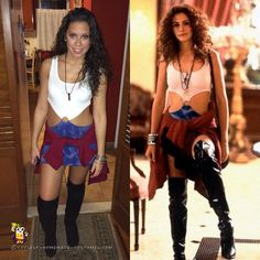 Cute Pretty Woman DIY Costume... Coolest Homemade Costumes
