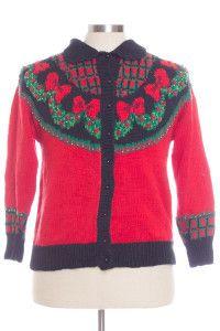 Red Ugly Christmas Cardigan 28774