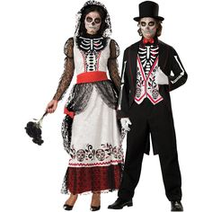 Share this on WhatsAppHomemade Halloween costume ideas aren't that difficult to come up with. Whether you want to add a personal edge to your scary [. Sugar Skull Halloween, Halloween Queen, Adult Halloween Party, Holidays Halloween, Halloween Pumpkins, Halloween Office, Happy Halloween, Scary Couples Costumes, Halloween Costumes 2014