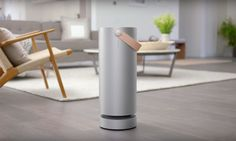 The Molekule air filter captures pollutants and completely destroys them using a revolutionary new technology.