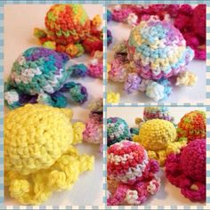 Free shipping US only  kitty krack octopi  by RainbowLuvCreations