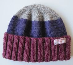 Gudrun, Textiles, Loom, Knitted Hats, Diy And Crafts, Knitting, Pattern, Inspiration, Children