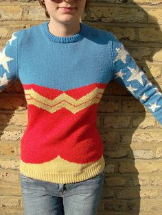 WW front by kaby, via Flickr    I will be wearing this to ComicCon.