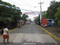 le village d'Altagracia sur l'ile d'Ometepe, Nicaragua