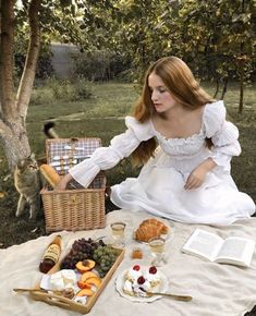 Princess 👑 , meow 🐱 in picnic or fairytale 🧚🏻♂️🤷♀️ 🧺 there are many of you asked for this white dress on princess Sonya ,… Spring Aesthetic, Classy Aesthetic, Aesthetic Girl, Picnic Photo Shoot, Picnic Photography, Style Photoshoot, Debut Photoshoot, Picnic Outfits, Summer Outfits