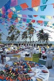 Mexican theme decor (end of the world party 2012)