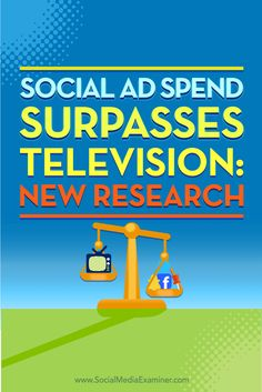 Is your company wondering where to allocate its advertising budget?  New research shows that for the first time, digital and social media ad spending has surpassed that of TV. Marketers everywhere may revisit their strategies, leading to big changes in ad spend.  In this article, you'll discover where digital advertising dollars are being spent, why marketers are flocking to certain media, and how you can keep up with the pack. Via @smexaminer.