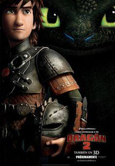 """PRIMER TRÁILER OFICIAL para 'Cómo entrenar a tu Dragón 2' (How to train your Dragon 2), la película dirigida por Dean DeBlois y Chris Sanders., donde encontraremos """"muchas carreras de dragones""""."""