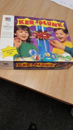 VINTAGE KERPLUNK MARBLE GAME MB GAMES 1994 KER-PLUNK - Complete. #MB