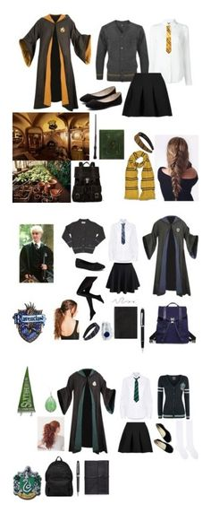 """Harry Potter Ocs"" by gladers4ever on Polyvore featuring Moschino, T By Alexander Wang, Verali, Proenza Schouler, Public School, WithChic, Jellypop, Smythson, Cross and Boohoo"