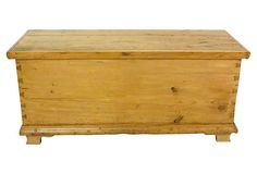 19th-C.  Irish Pine Chest on OneKingsLane.com