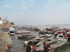 Varanasi the mythological capital of India. It is called temple city of India.