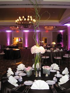 Beautiful reception at Stonebriar Country Club, Frisco, TX