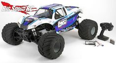 New 1/5th scale monster truck from Losi!