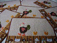 +++ jogo americano e trilho de mesa