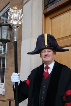 Beadle of the Worshipful Company of Barbers