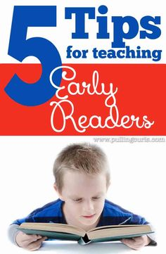 Teaching early readers takes some know how and perseverance. Here's my own 5 tips that had all 3 of my kids up and reading at age 3.
