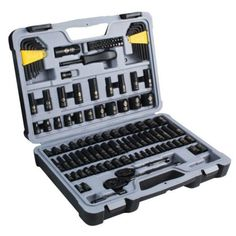 fdaa6b6e2d4 DEWALT 1 4 in. x 3 8 in. Drive Polished Chrome Mechanics Tool Set ...