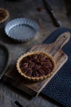 Coco e Baunilha: Tarteletes de noz pecã com gelado de requeijão e doce de abóbora {Gelados de Portugal}