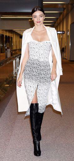 Miranda Kerr at Narita International Airport, Japan.