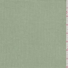 Solid celery green. A light/medium weight 100% linen fabric with a vertical leno stripe and random slubs. Stiff hand.Compare to $20.00/yd