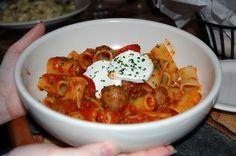 Carrabba's Italian Grill : Rigatoni Campagnolo