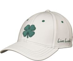 Black Clover Men s Premium Clover Golf Hat 6c78166f90ef