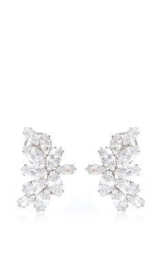 Fallon Crystal Cluster Earrings, $225 at Moda Operandi. Little touches like these gleaming cubic-zirconia earrings can quickly elevate your date night outfit.