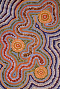 Warna Jukurrpa (Snake Dreaming) by Leston Japaljarri Spencer